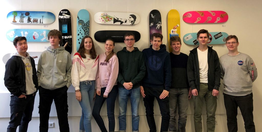 Zuschuss zum Skateboard-Projekt